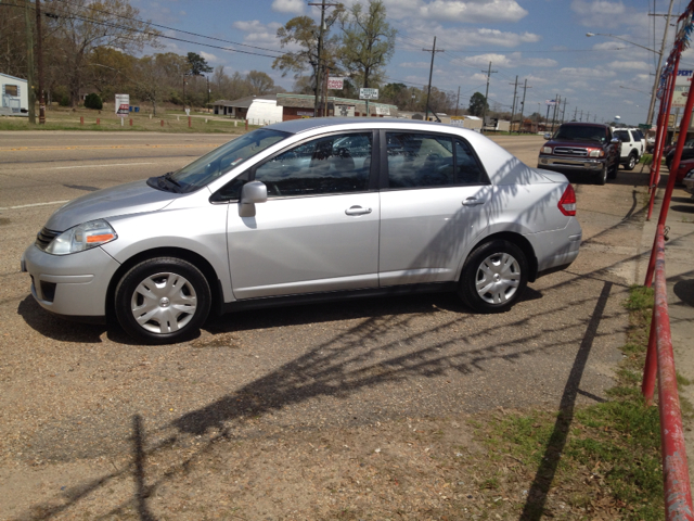 2010 NISSAN VERSA 18 S SEDAN silver we are located at 1402 florida blvd denham springs la 70726