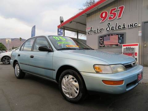 1995 Toyota Corolla for sale in San Jacinto, CA