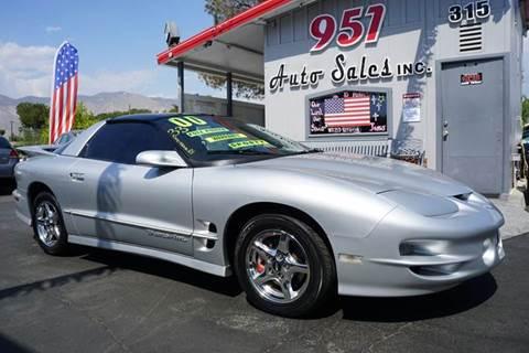 2000 Pontiac Firebird for sale in San Jacinto, CA