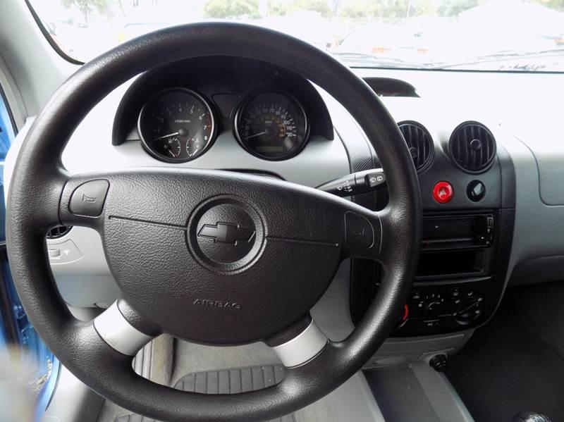 2005 Chevrolet Aveo LS 4dr Hatchback In Washougal WA  A Car