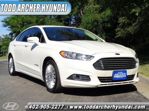 2013 Ford Fusion Hybrid for sale in Bellevue, NE