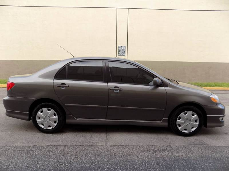 2005 Toyota Corolla S 4dr Sedan - Hollywood FL