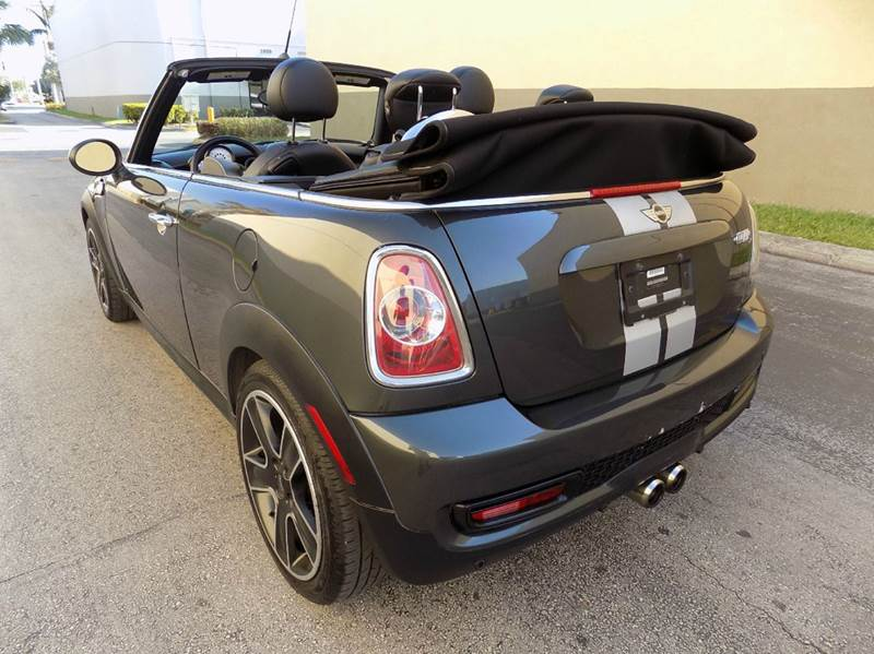 2012 MINI Cooper Convertible S 2dr Convertible - Hollywood FL