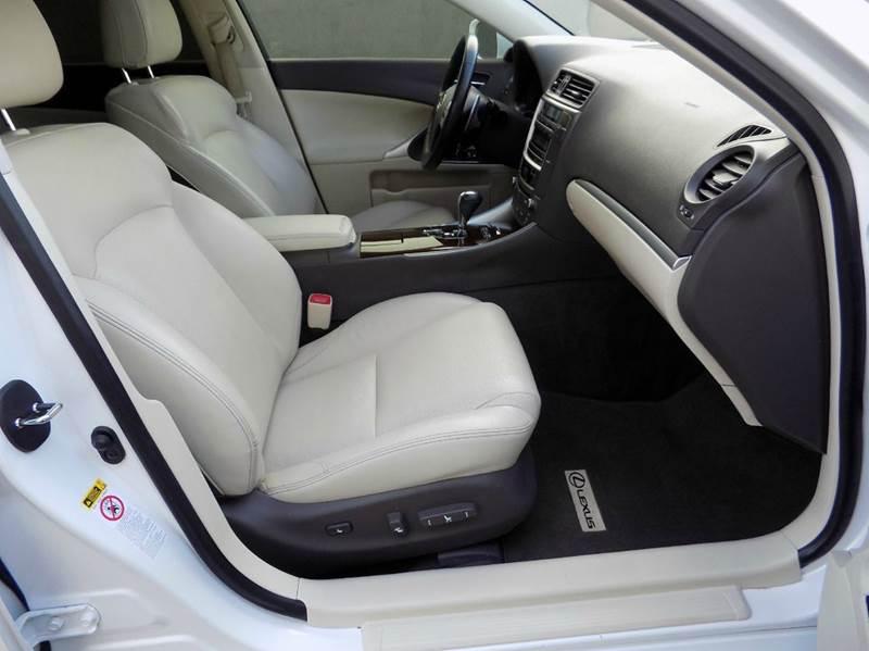 2012 Lexus IS 250 Base 4dr Sedan 6A - Hollywood FL