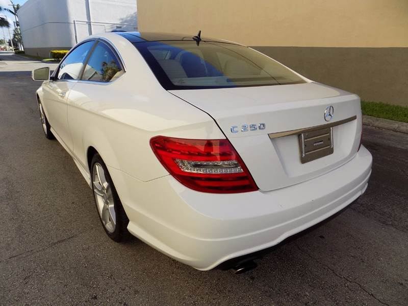 2014 Mercedes-Benz C-Class C 250 2dr Coupe - Hollywood FL