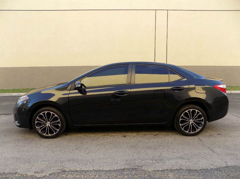 2014 Toyota Corolla S Plus 4dr Sedan CVT - Hollywood FL