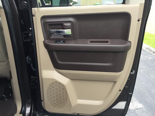 2011 RAM Ram Pickup 1500 4x2 Lone Star 4dr Quad Cab 6.3 ft. SB Pickup - Hollywood FL