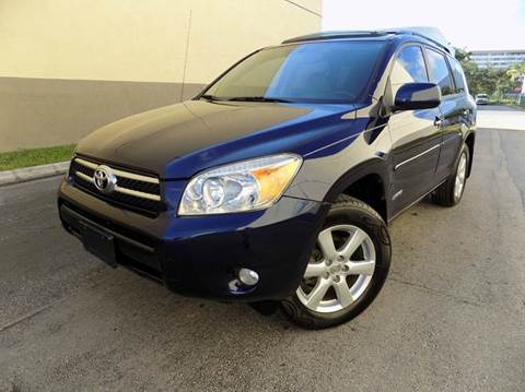2007 Toyota RAV4 for sale in Hollywood, FL