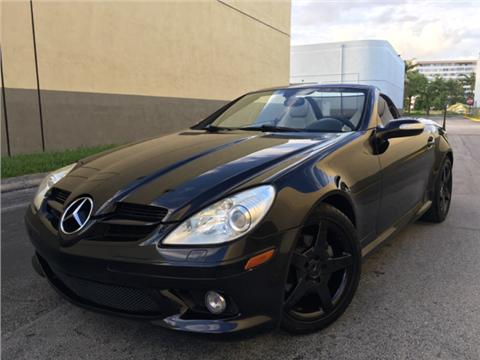 2007 Mercedes-Benz SLK for sale in Hollywood, FL