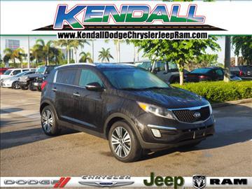 2014 Kia Sportage for sale in Miami, FL