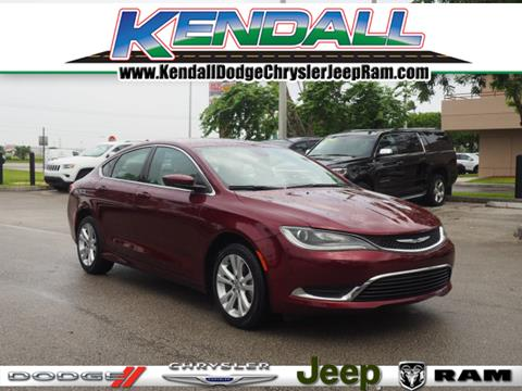 2015 Chrysler 200 for sale in Miami, FL
