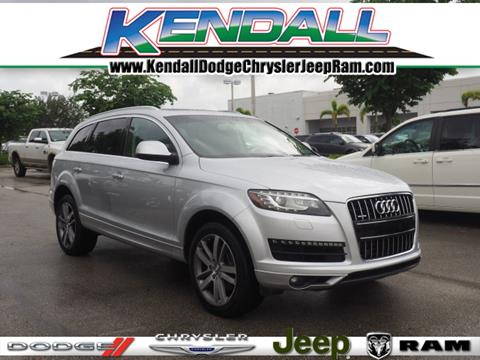 2013 Audi Q7 for sale in Miami, FL