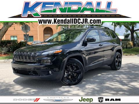 2016 Jeep Cherokee for sale in Miami, FL