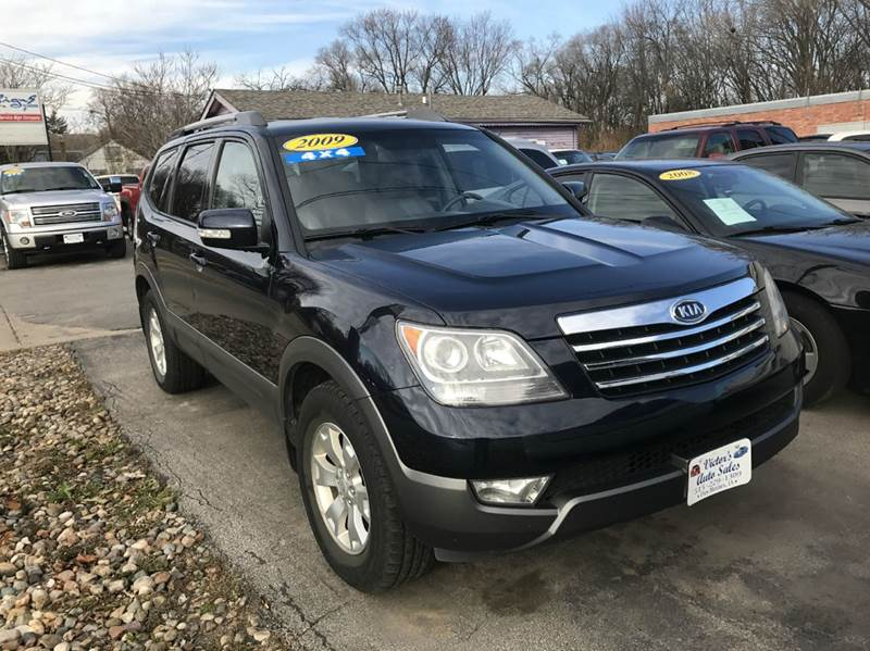 2009 kia borrego 4x4 lx 4dr suv in des moines ia victor. Black Bedroom Furniture Sets. Home Design Ideas