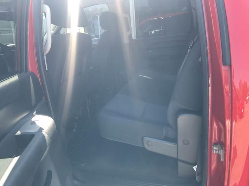 2013 Chevrolet Silverado 1500 4x4 LT 4dr Crew Cab 5.8 ft. SB - Des Moines IA