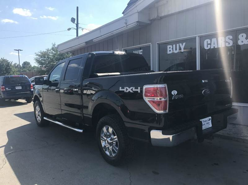2011 Ford F-150 4x4 XLT 4dr SuperCrew Styleside 5.5 ft. SB - Des Moines IA