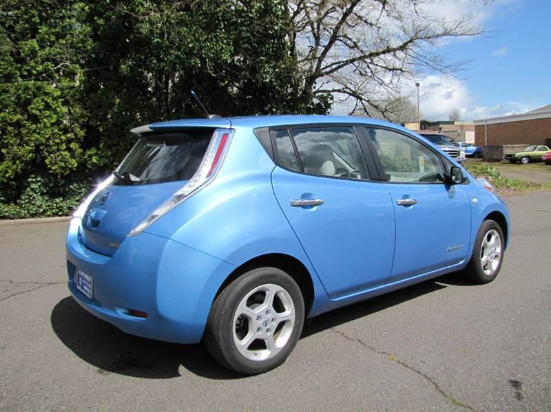 2012 nissan leaf sl 4dr hatchback in corvallis or al. Black Bedroom Furniture Sets. Home Design Ideas