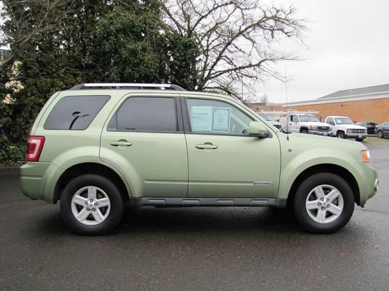 2008 ford escape hybrid awd 4dr suv in corvallis or al hutchinson auto center. Black Bedroom Furniture Sets. Home Design Ideas