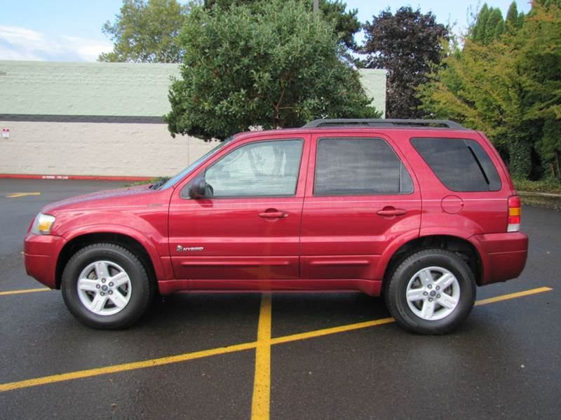 2007 ford escape hybrid 4dr suv in corvallis or al hutchinson auto center. Black Bedroom Furniture Sets. Home Design Ideas