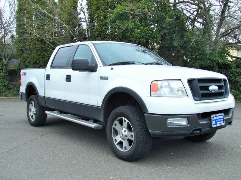 2005 ford f 150 4dr supercrew fx4 4wd styleside 5 5 ft sb in corvallis or al hutchinson auto. Black Bedroom Furniture Sets. Home Design Ideas