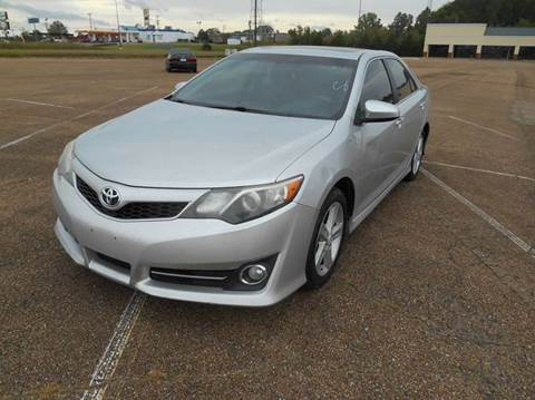 2012 Toyota Camry for sale in West Point, MS