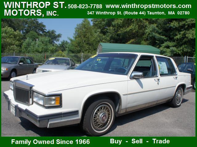 1988 Cadillac Deville For Sale