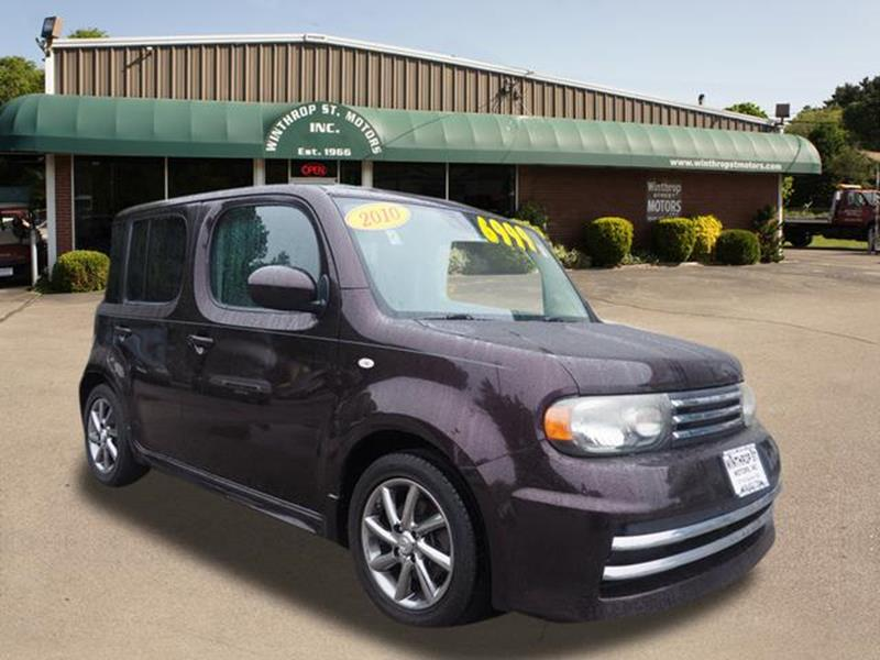 2010 Nissan Cube 18 S Krom Edition 4dr Wagon In Taunton Ma