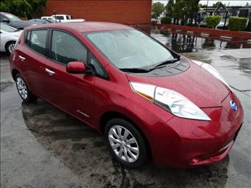 2014 Nissan LEAF for sale in West Valley City, UT