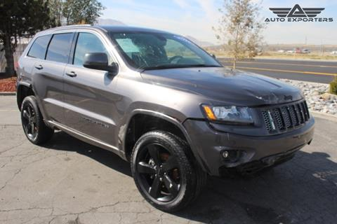 2015 Jeep Grand Cherokee for sale in West Valley City, UT
