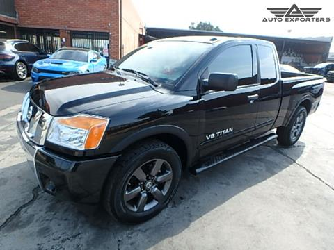 2015 Nissan Titan for sale in West Valley City, UT