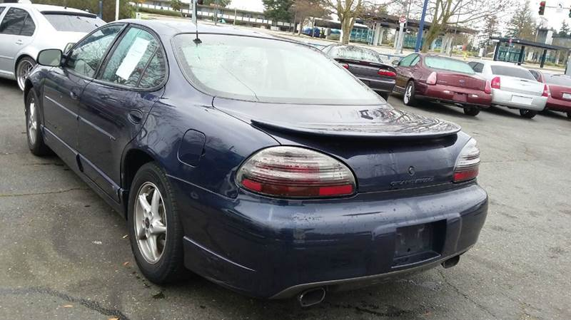 2001 Pontiac Grand Prix GT 4dr Sedan - Lakewood WA
