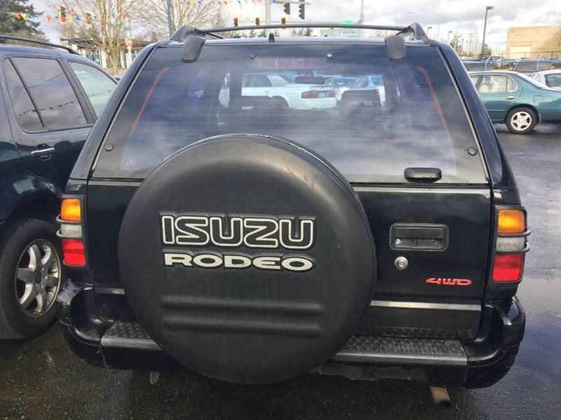 1999 Isuzu Rodeo 4dr LS 4WD SUV - Lakewood WA