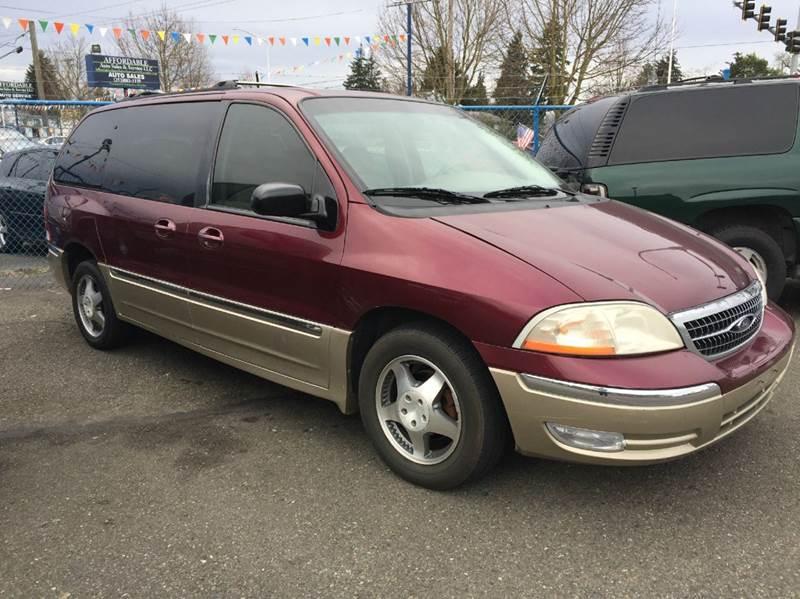 2000 Ford Windstar 4dr Limited Mini-Van - Lakewood WA