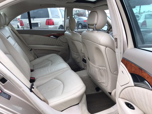 2003 Mercedes-Benz E-Class E 500 4dr Sedan - Indianapolis IN