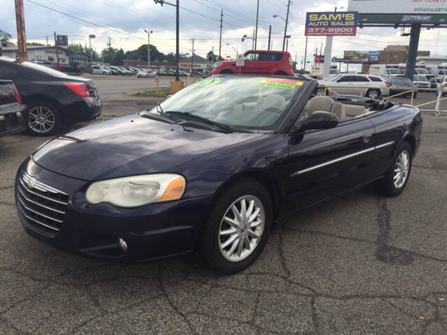 2004 chrysler sebring limited 2dr convertible in. Black Bedroom Furniture Sets. Home Design Ideas