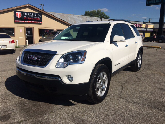 2007 gmc acadia slt 2 4dr suv in indianapolis in premium. Black Bedroom Furniture Sets. Home Design Ideas