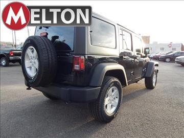 2017 Jeep Wrangler Unlimited for sale in Claremore, OK