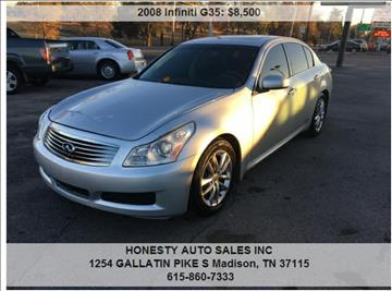 2008 Infiniti G35 for sale in Madison, TN