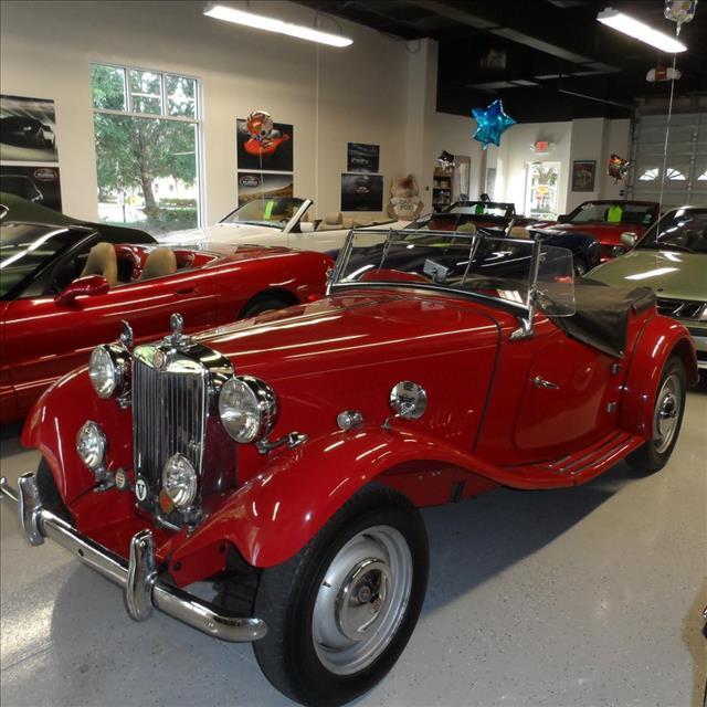 used 1950 mg td roadster conv in bonita springs fl at premier motorcars. Black Bedroom Furniture Sets. Home Design Ideas