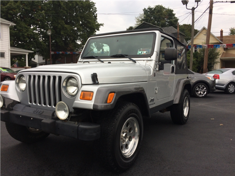 2004 jeep wrangler for sale in wilkes barre pa. Cars Review. Best American Auto & Cars Review