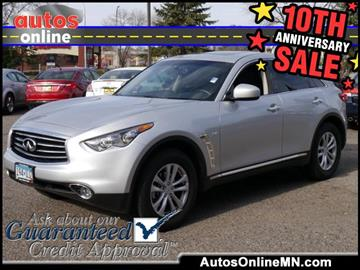 2016 Infiniti QX70 for sale in Fridley, MN