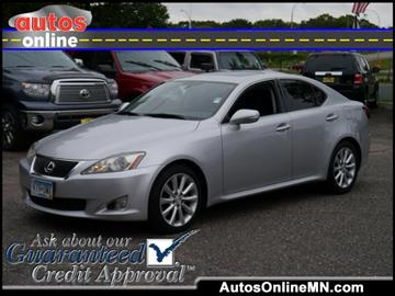 2009 Lexus IS 250 for sale in Fridley, MN