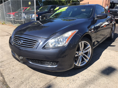 2009 Infiniti G37 Coupe for sale in Bridgeport, CT