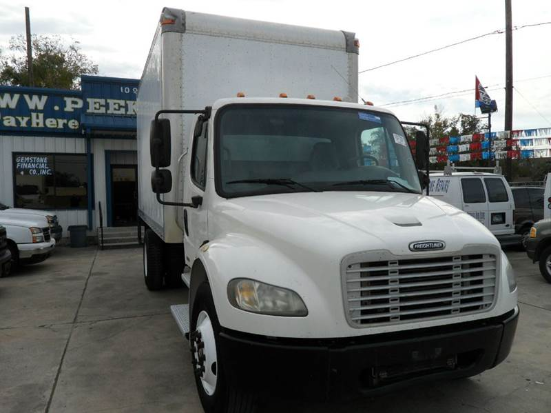 2005 freightliner business class m2 16 ft box truck lift for A m motors houston tx