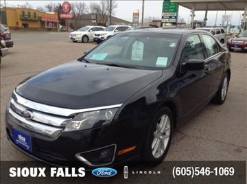 2010 Ford Fusion for sale in Sioux Falls, SD