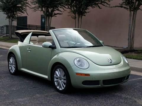 2008 Volkswagen New Beetle for sale in Houston, TX