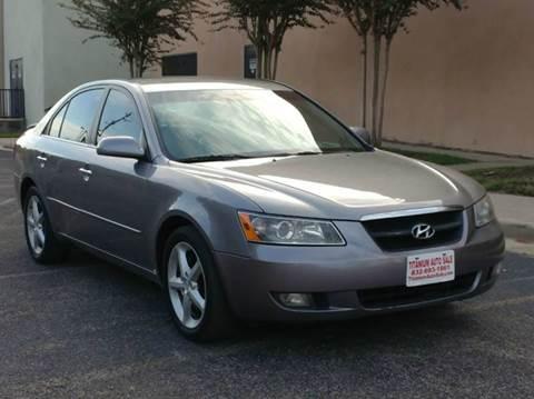 2006 Hyundai Sonata for sale in Houston, TX