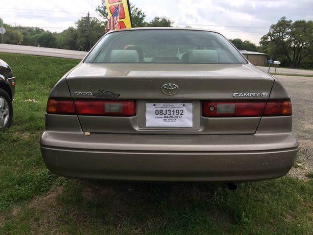 1999 Toyota Camry LE 4dr Sedan - Austin TX