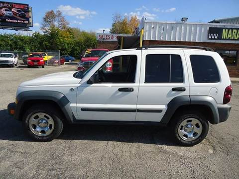2006 jeep liberty for sale in ohio. Black Bedroom Furniture Sets. Home Design Ideas