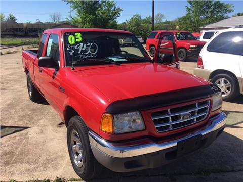 2003 Ford Ranger for sale in Terrell, TX